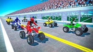 ATV Bike Racing 2018 - Gameplay Android game - atv quad racing games
