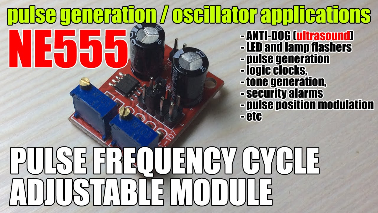 Review Ne555 Pulse Frequency Cycle Adjustable Module Square Wave Oscillator 555 50 Duty Circuit Schematic Diagram Signal Generator H2578ay K68674bs Youtube
