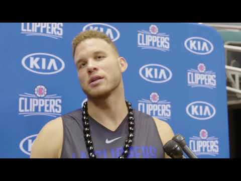 Blake Griffin Addresses the Media | Training Camp 2017 - Day 1