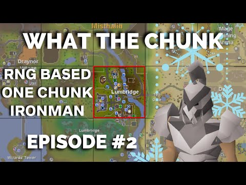 Ultimate Ironman In The Stronghold | What The Chunk (#2) |