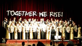 byu idaho collegiate singers winneba youth choir sing ghana national anthem