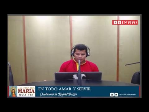 Transmisión en directo Radio La Voz de María