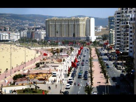 Bruit effrayant sur-Tanger-MOROCCO--03.01.2016