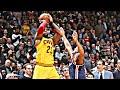 NBA Falling Out Of Bounds Shots