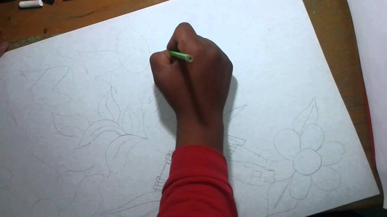 Dibujo para el dia de las madres!!! (Graffiti) - YouTube