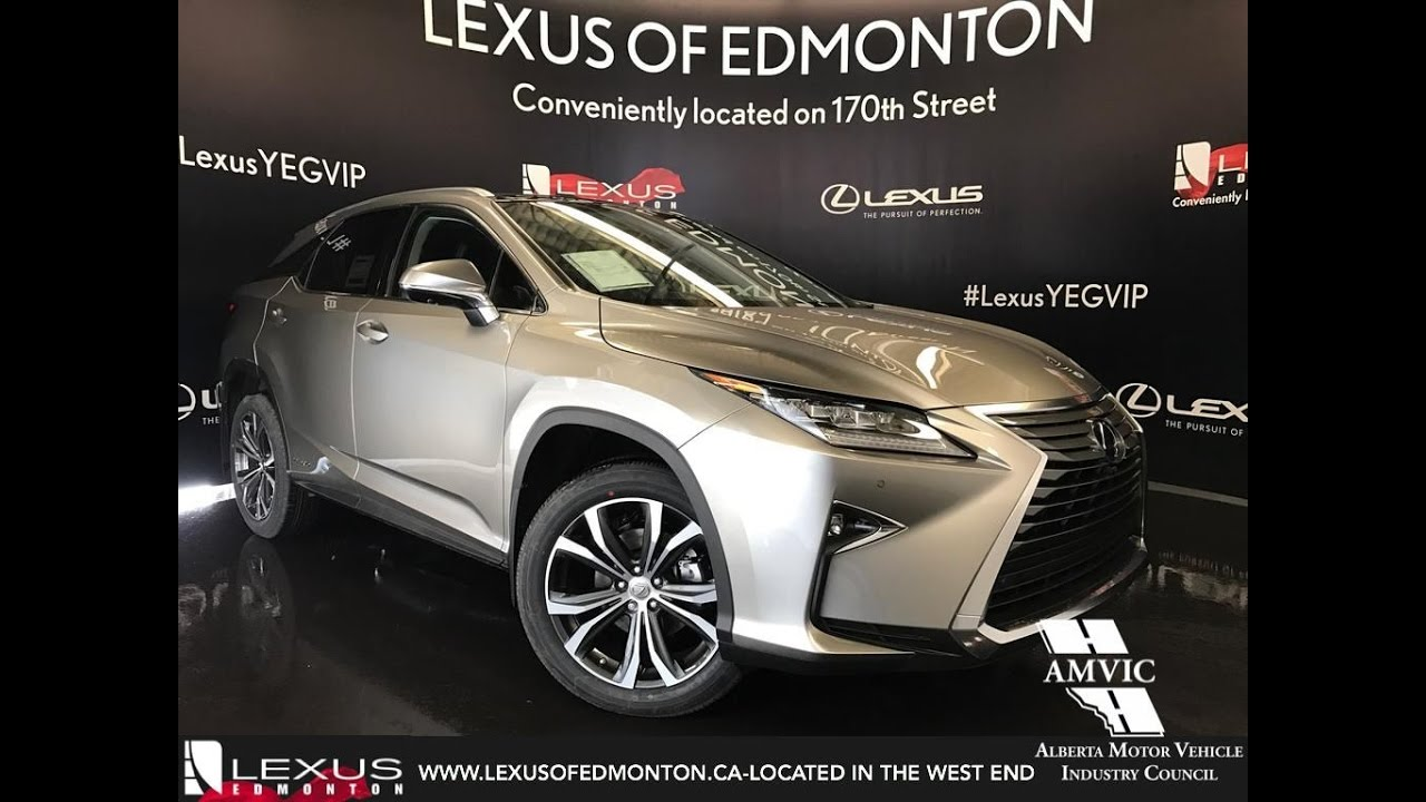 2017 Atomic Silver Lexus Rx 450h Awd Hybrid Executive In Depth Review West Edmonton Alberta You