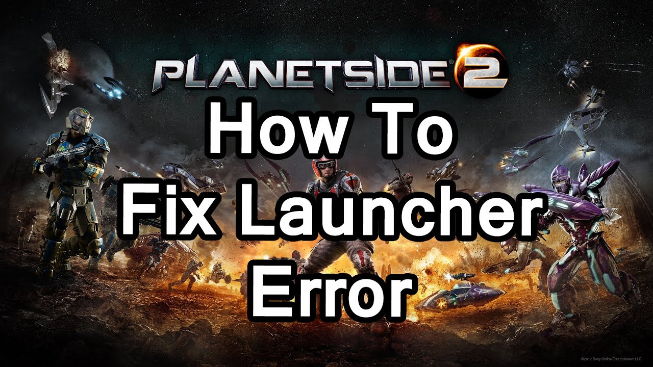 """Problem getting the list of files for download. """"   planetside 2 forums."""