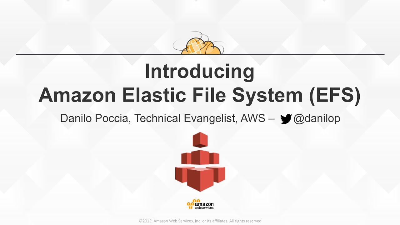 Amazon Elastic File System (EFS)
