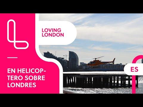 London Helicopter tour – Descubrimos Londres desde el aire