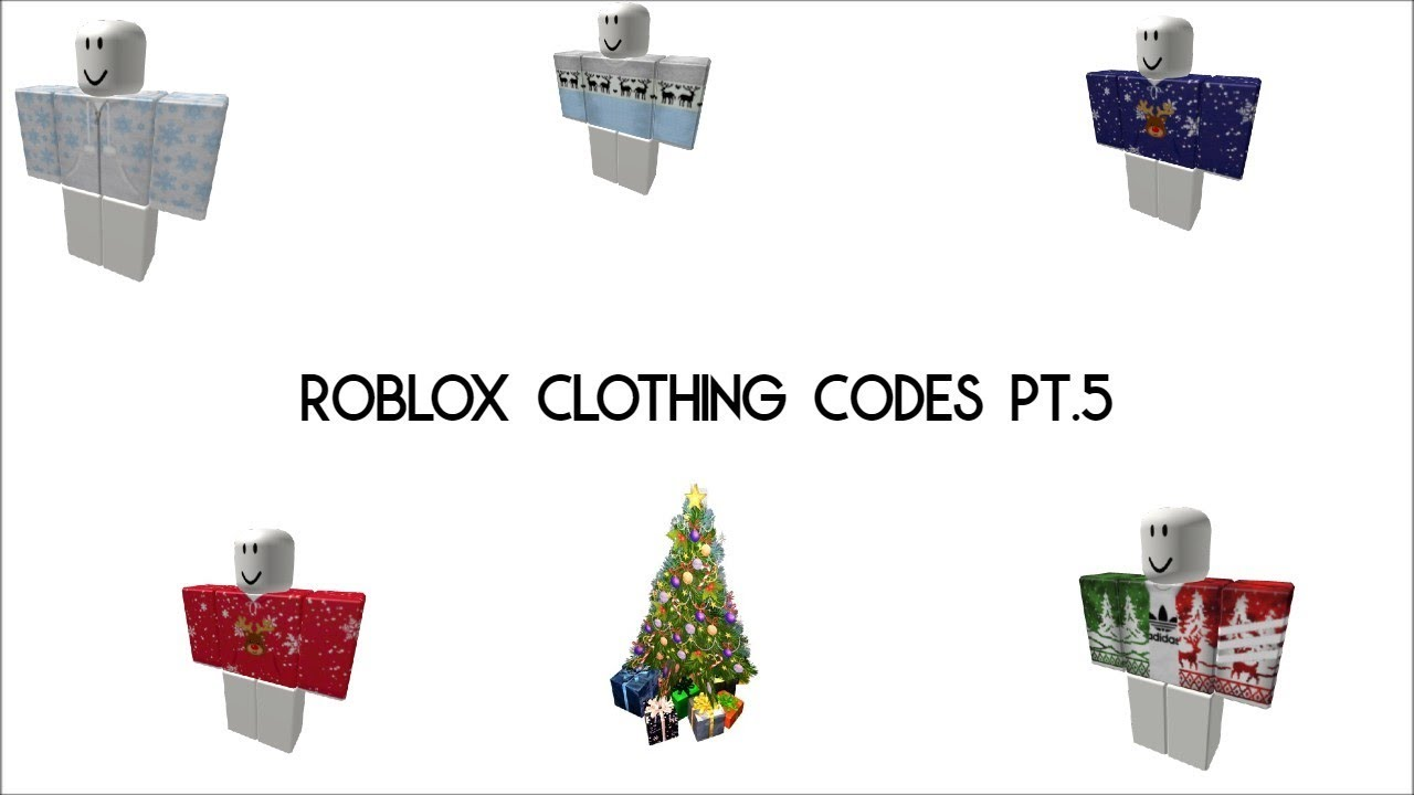 [VIDEO] - Roblox clothing codes (winter/christmas codes) 9