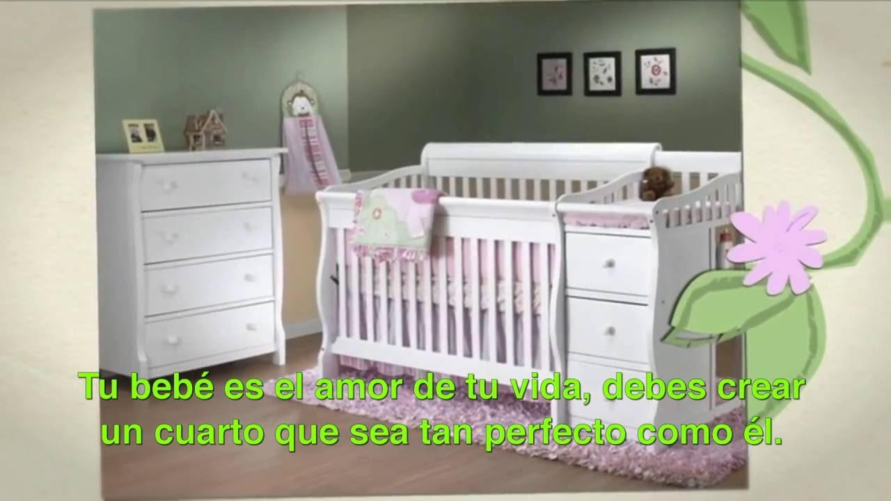 Cunas y muebles SORELLE solo en Bebemundo - YouTube