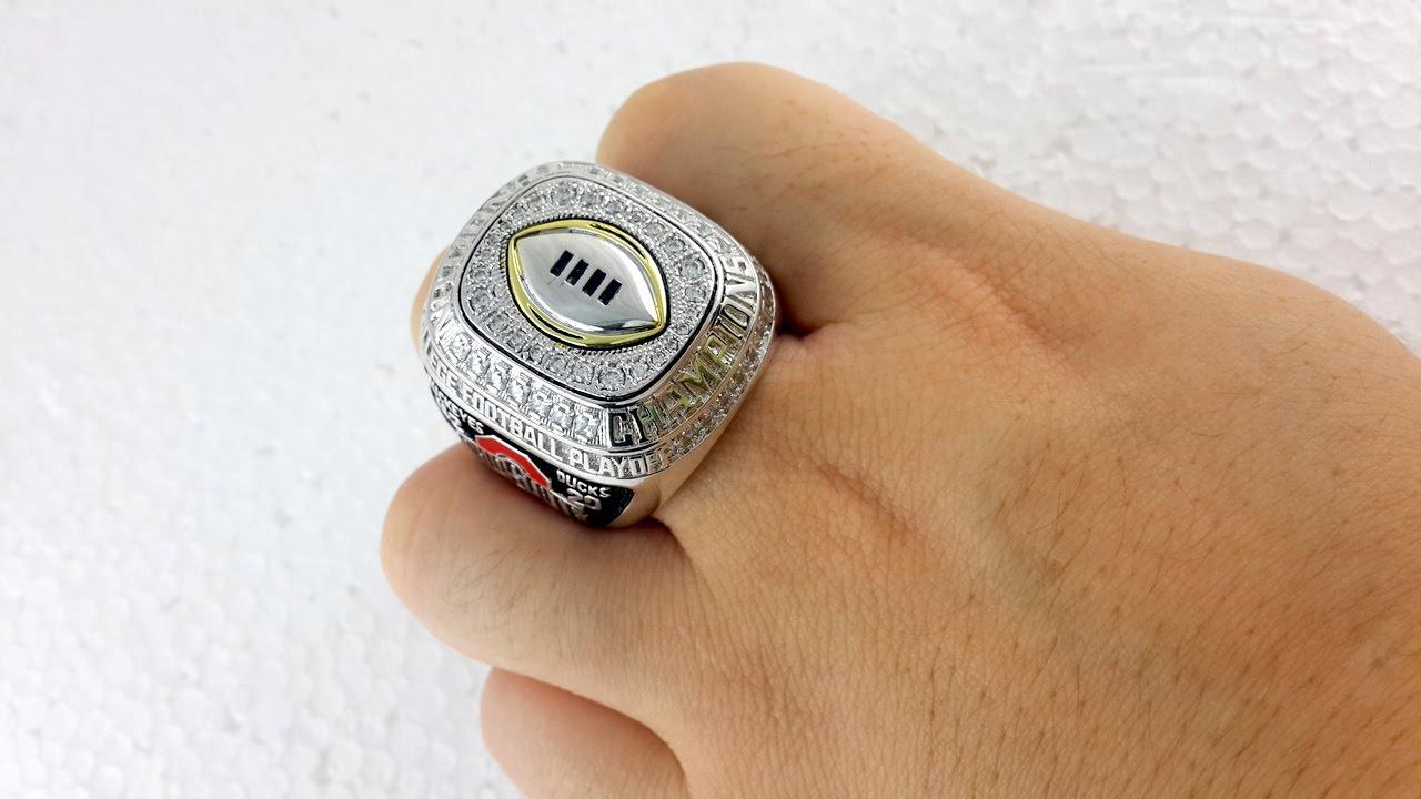 Custom Fantasy Football Rings