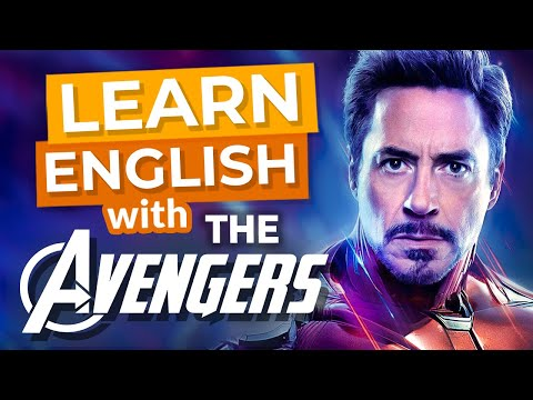 Learn English With Avengers