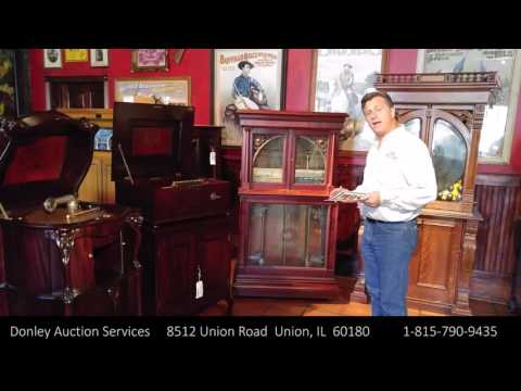 Donley Auctions Phonograph Music Box Auction Randy Donley