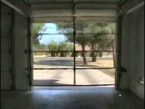 Garage Door secure garage door : Security Screen Garage Door - YouTube