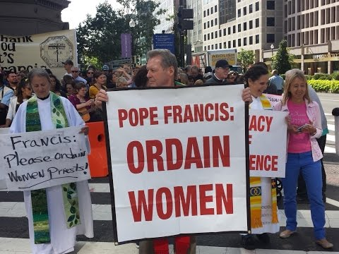 Priests to Pope: Stop the Sexism