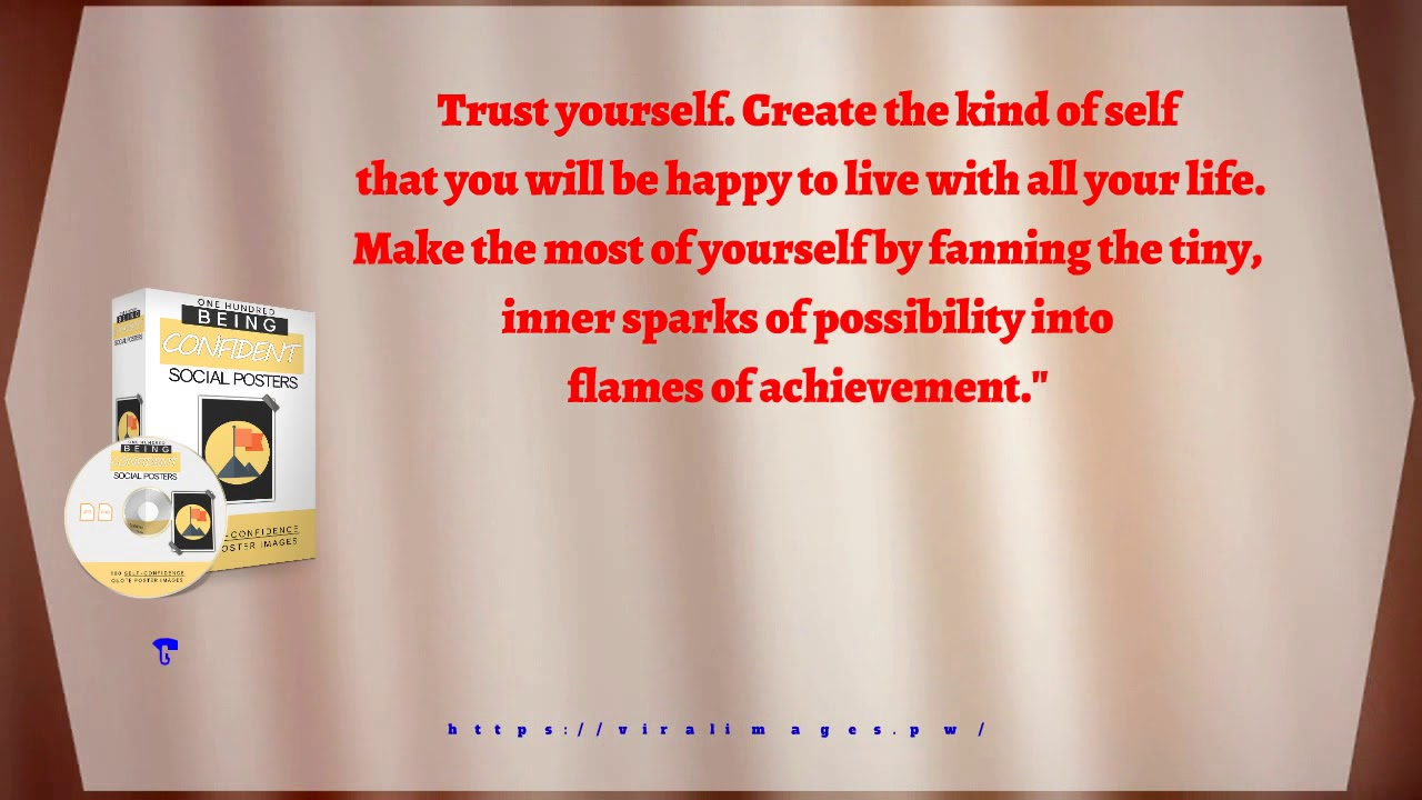 Quotes About Being Confident Being Confident Viral Quotes 11 Trust Yourself Create The Kind Of