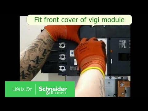 How To Fit Pole 400a Mccb With Vigi Block As An Outgoing Breaker In Powerpact4 Panel Boa
