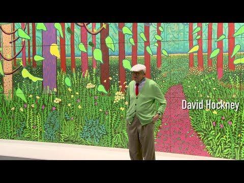 Que va-t-on découvrir ? | David Hockney | Exposition | Centre Pompidou