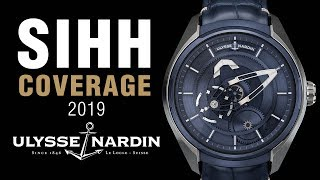 SIHH 2019: Ulysse Nardin Divers (Including Limited Edition) and Freak X!