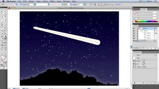 Quick Tip: How to Create a Comet with the Blend Tool and Blurs