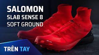 Giày chạy bộ địa hình có gì khác? Salomon Slab Sense 8 Soft Ground