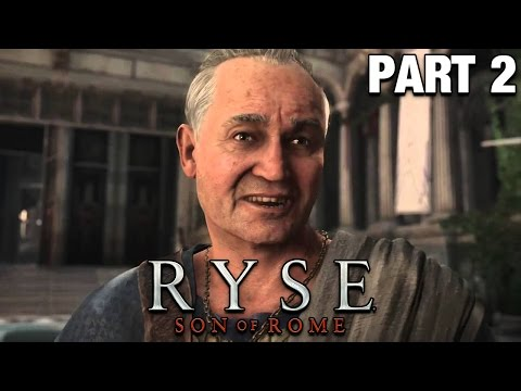 Ryse Son of Rome Gameplay German #02 - Rette es vor ihnen! - Lets Play Ryse Son of Rome