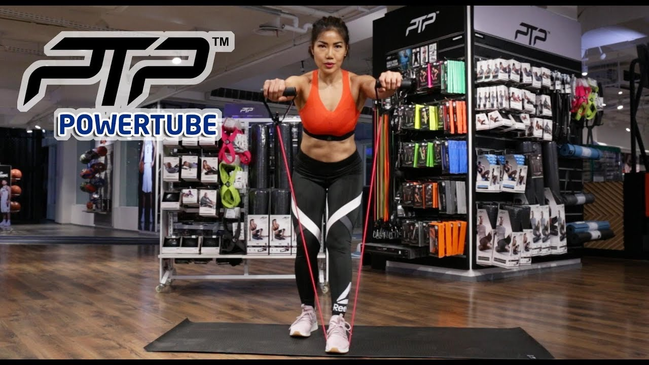 PTP POWERTUBE - HOME WORKOUT with INGE ANUGRAH | EXERCISE VIDEO