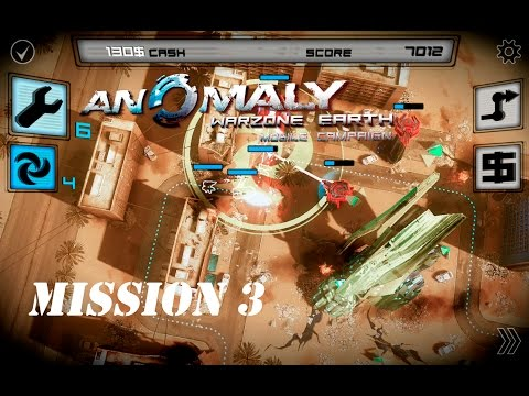 MISSION 3 - THE WRECK - Anomaly Warzone Earth Mobile Campaign - Gameplay #3  