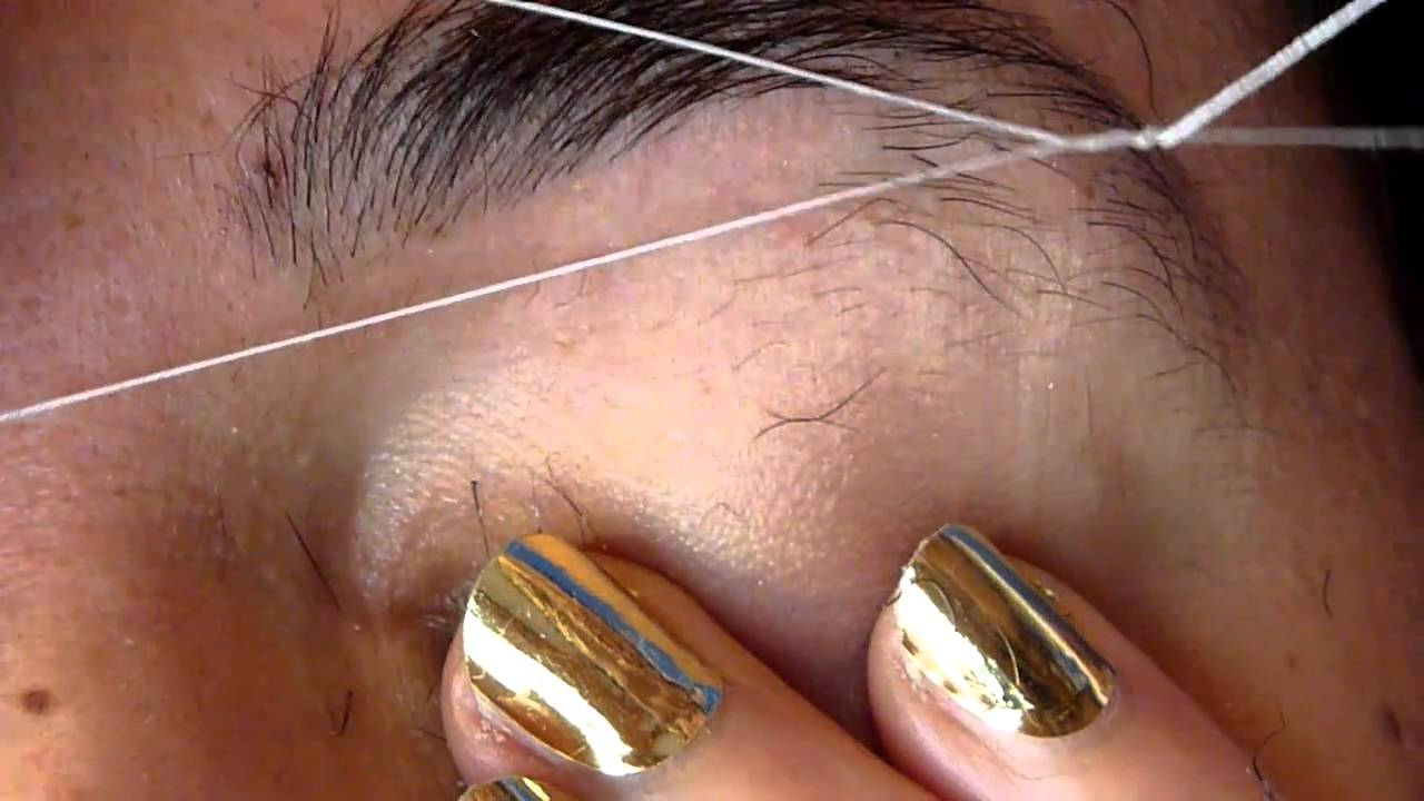 More Brow Threading With Lee Youtube