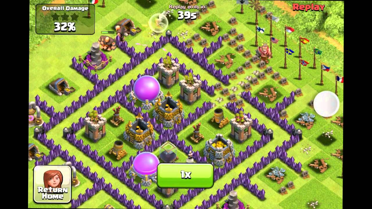 clash of clans funny epic fail revenge attack youtube