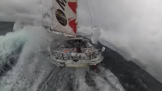 Vendée Globe 2020 - Unbelievable images from Isabelle Joschke in the Pacific Ocean!