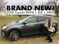 BRAND NEW! 2018 Toyota Rav 4 XLE | Han's Car Tour