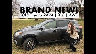 BRAND NEW! 2018 Toyota Rav 4 XLE | Han's Car Tour