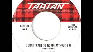 Bobby Curtola - I Don't Want To Go On Without You