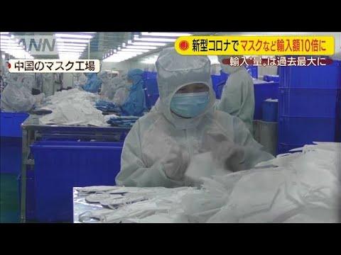 マスク 輸入 中国