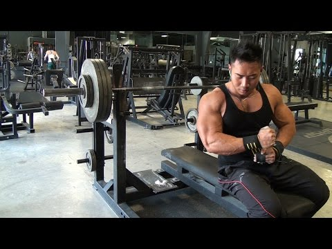 04.19.15 bench press / dead bench press training