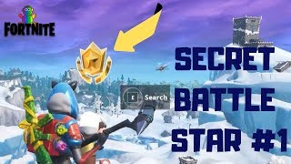 Fortnite - SEASON 7 SNOWFALL CHALLENGE SECRET BATTLE STAR LOADING SCREEN #1