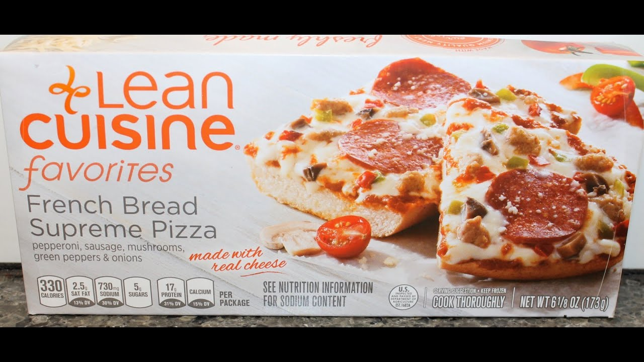 It is a graphic of Dramatic Lean Cuisine Ingredients Label