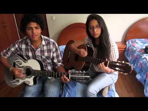 No es cierto - Noel Schajris Ft. Danna Paola (Cover Manuel y Adriana Meza) Videos De Viajes