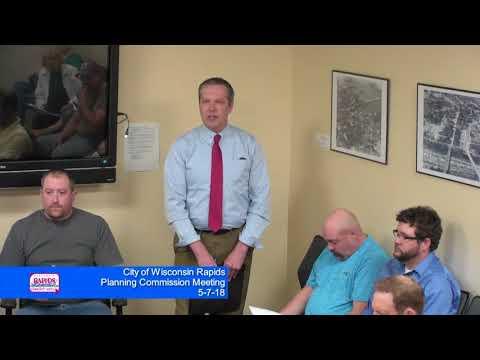City of Wisconsin Rapids Planning Meeting 5-7-18