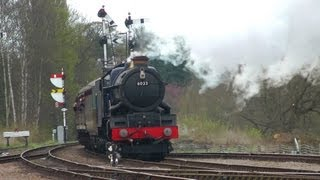 GCR,2013,Steam,Swithland Gala,27th April,Quorn Derailment,England,HD