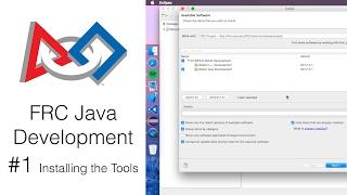 FRC Java Development 1 Installing the Tools