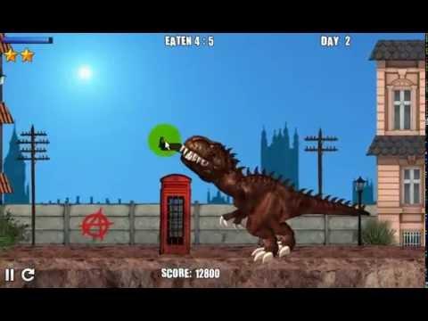 London Rex เกมส์ไดโนเสาร์กินคน เกมส์ไดโนเสาร์ต่อสู้ โคตรมันส์