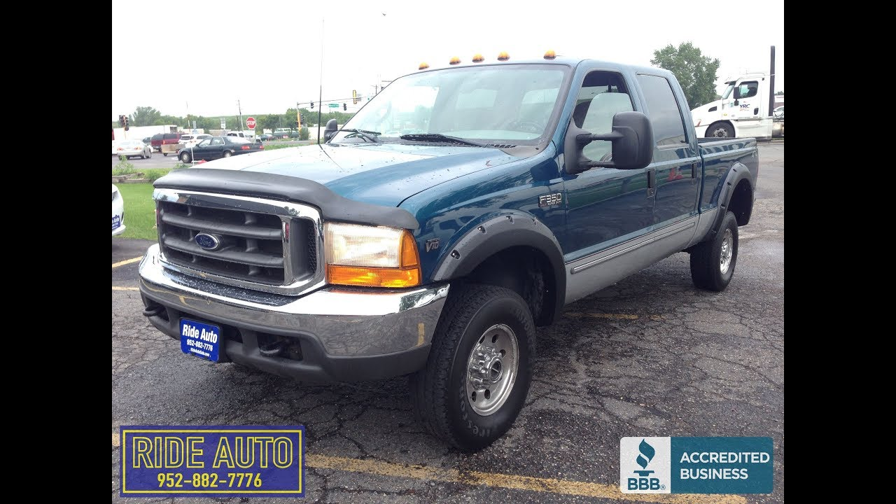 2000 blue v10 ford f350 gas 17276