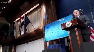 美国指责伊朗成为基地组织的避风港 - YouTube