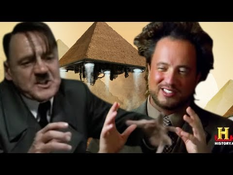 Hitler Watches Ancient Aliens