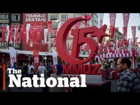 Turkey still tense 1 year after failed coup