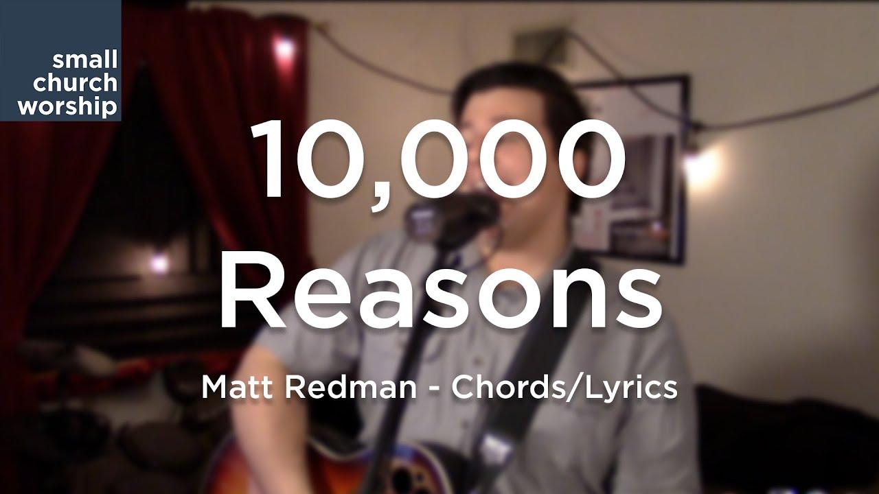 10000 Reasons Matt Redman Chordslyrics Youtube