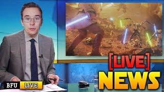 ⚡BATTLEFRONT 2 NEWS LIVE: Geonosis Reveal (CT) & Level Designer Interview!